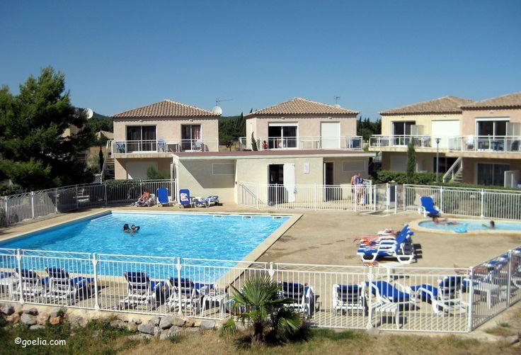 Résidence Goelia - Vue sur la piscine des Jardins de Phoebus !