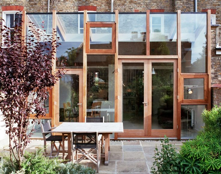 L1 / 306 WOOD WINDOW FRAMES; Calbourne Road; Takero Shimazaki Architects