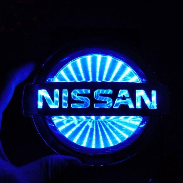 3d car tail logo led light badge lamp emblem sticker car decoration led nissan logo light wish nissan nissan logo nissan xtrail 3d car tail logo led light badge lamp