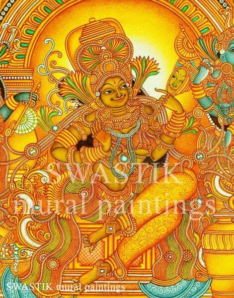 Parvathi chakarak # muralpaintings # kerala muralpaintings # mural art # canvas paintings