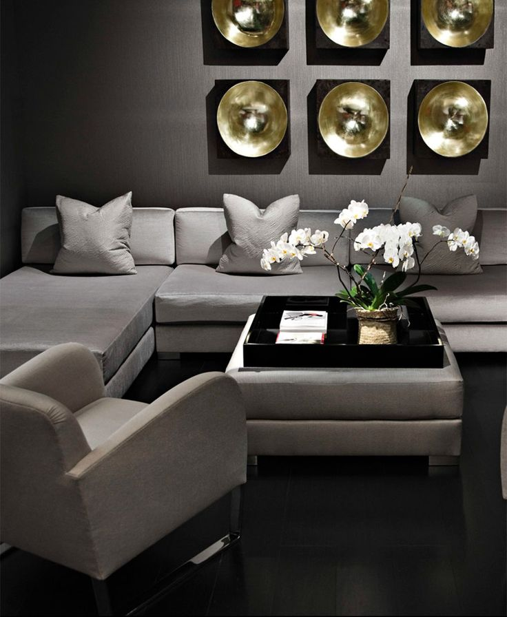 Donghia | Interior | Grey | Sofas | Design | Furniture