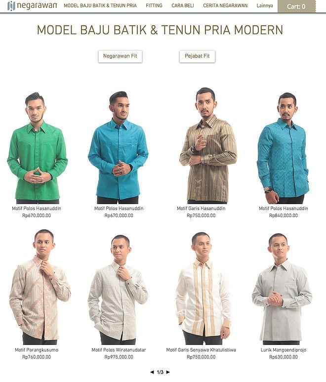 4 Langkah Mudah Belanja Batik & Tenun Online