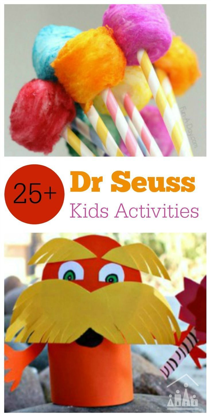 Did you know that it is Dr. Seuss Day on the 2nd of March? Dr. Seuss was such a great inspiration: writing fun books so kids would fall in love with reading. It is no wonder there is a special day(some make it a week) set aside for Dr. Seuss inspired activities. Activity Ideas for Cat in the Hat, What Pet Should I Get? Green Ham and Eggs, The Lorax, Ten Apples on Top, One Fish, Two Fish, Red Fish, Blue Fish and Hop on Hop.
