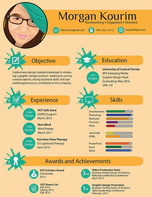 15 best Infographics CV images on Pinterest Infographics, And - infographic resume
