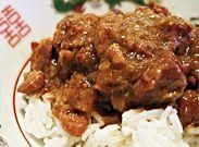 Indisch gekruid stoofvlees