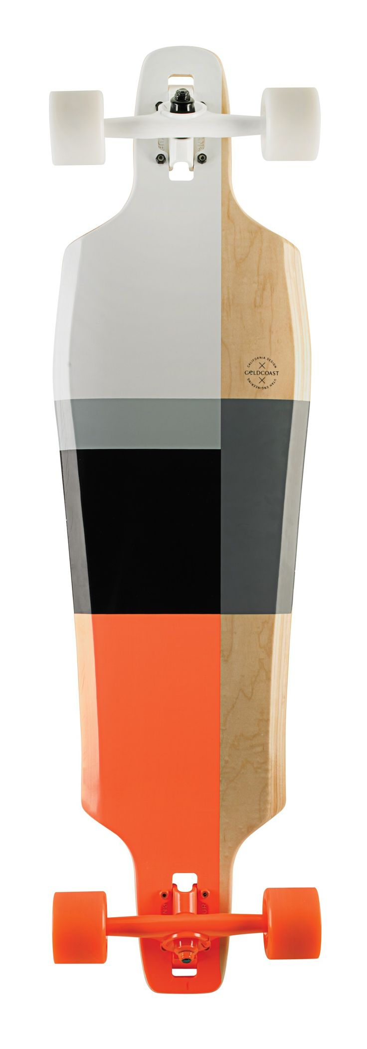 Color | Minimalism | Longboard by Goldcoast Pressure