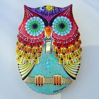 owl light switch cover
