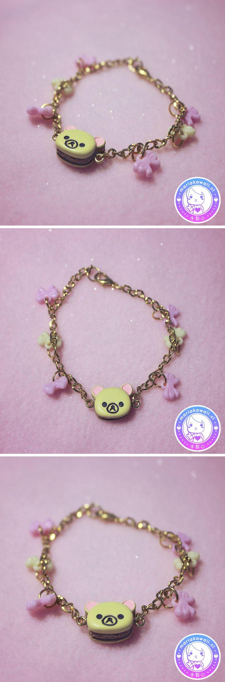 María Kawaii Store ♥ Korilakkuma Bracelet with Ribbons