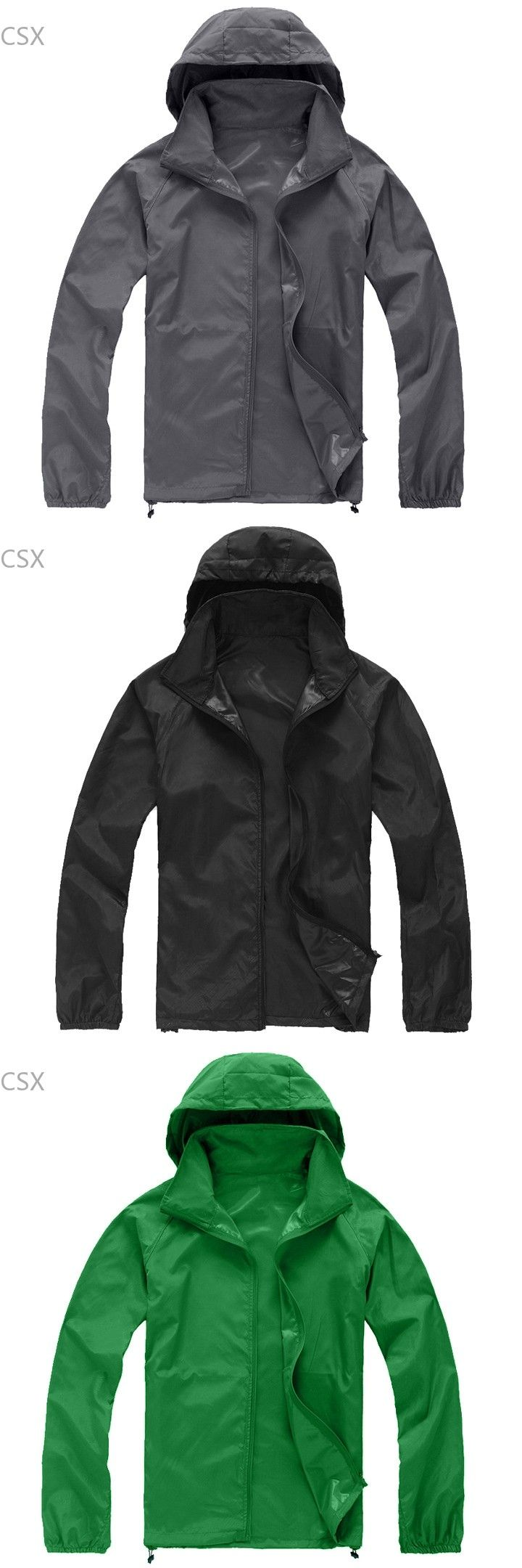 2016 New Men Women Raincoat Protective Clothing Coat Waterproof Jacket For Unisex Windbreaker sun protective clothing 41