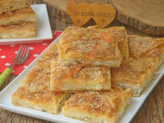 Sütlü Serpme Börek Resimli Tarifi - Yemek Tarifleri