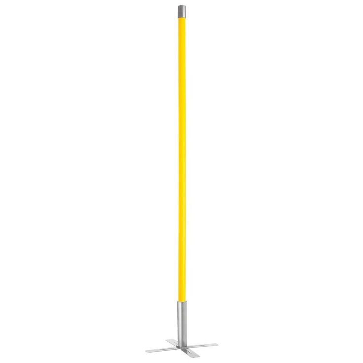 Filament Design Catherine 53 in. Yellow Floor Lamp
