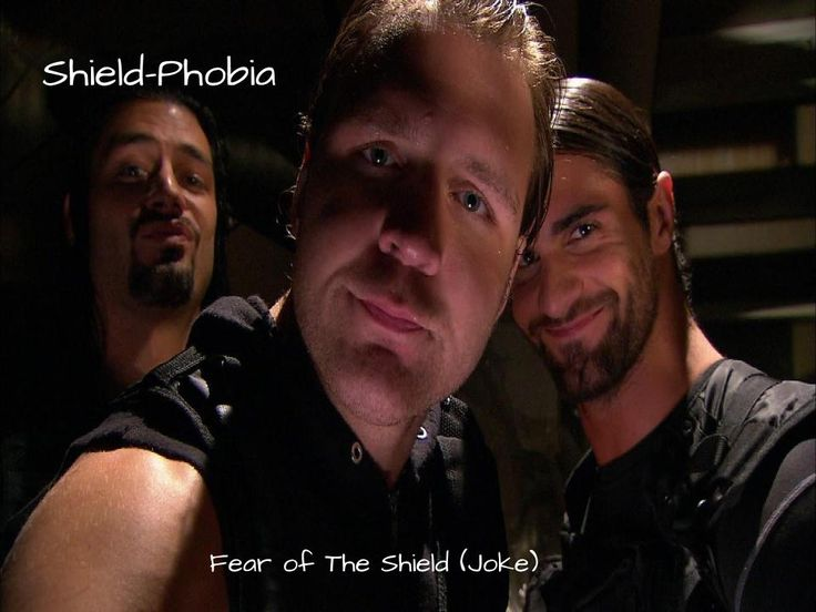 Since some superstars were so shocked when The Shield's theme song played, I had a theory they had Shield-Phobia (I made the phobia anyway XD) Please Give Credit