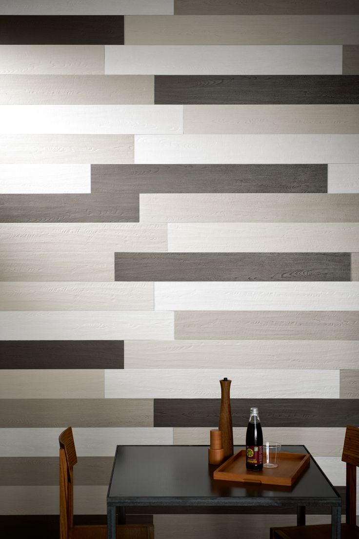 This Is A Great Way To Use A Wood Look On The Wall With