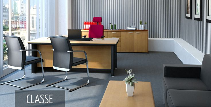 Classe | HighPoint Office Comprehensive executive office system with excellent details and ergonomic features that promotes confidence and elegance.