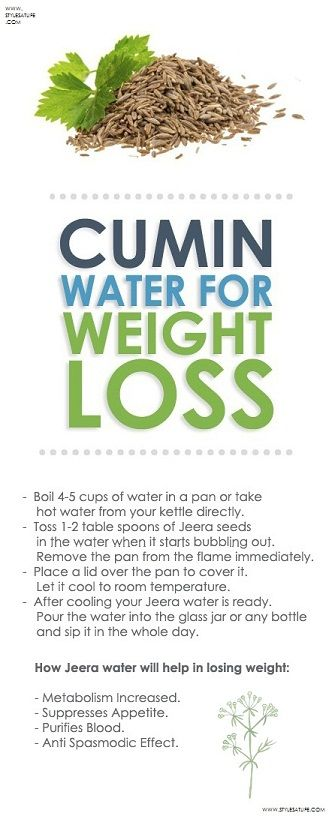 Herbs for weight loss How To Use Jeera/Cumin Water For Weight Loss?
