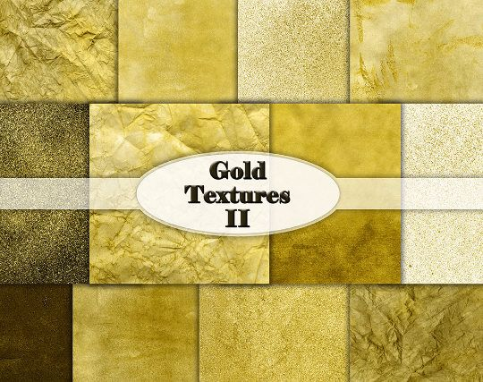 Gold Digital Paper Gold Foil Textures Gold Shiny Metallic Gold