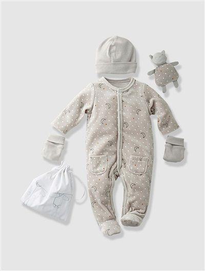 Kit naissance 3M nuit 5 pièces bébé nouveau né