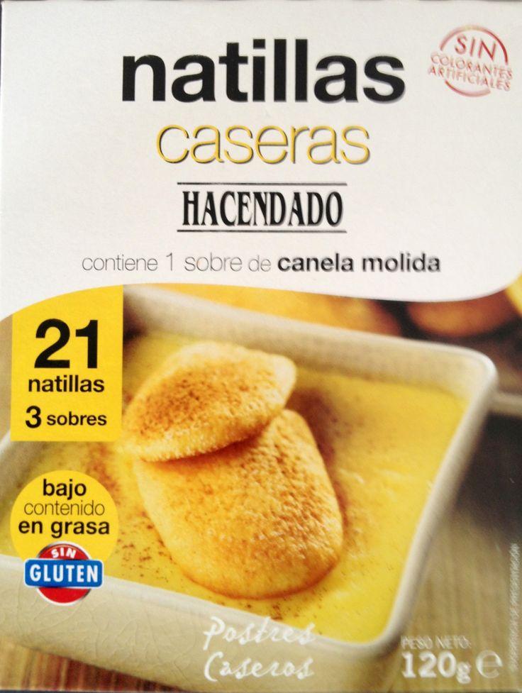 Natillas Caseras Hacendado (Mercadona) - 1 sobre 3 puntos