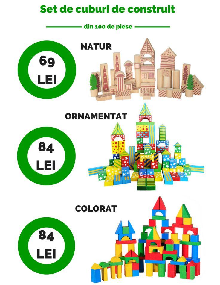 Cuburile de construit din lemn nu sunt o invenție nouă, de câteva decenii mai multe generații au jucat cu ele. jucariionline.eu/categorie-produs/jucarii-de-construit/cuburi-de-construit/