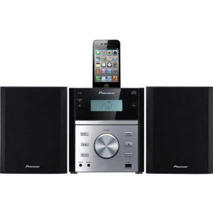 Amazon.com: Pioneer X-EM21 Micro HiFi CD/FM Stereo System with iPod-Dock USB-in Remote: Electronics