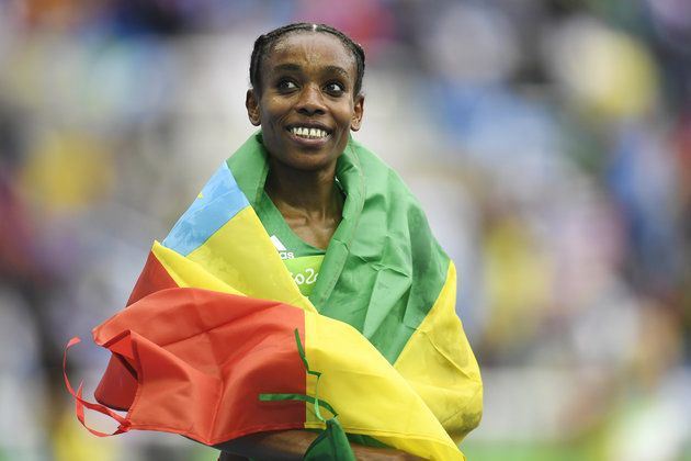 Almaz Ayana: Team Ethiopia, Track and Field --> These Black Athletes Powerfully Dominated The 2016 Olympics
