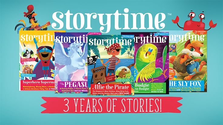 We're celebrating 3 years of stories over on our blog, plus find out about our awesome illustration competition! http://www.storytimemagazine.com/news/making-storytime/3rd-anniversary-art-competition/