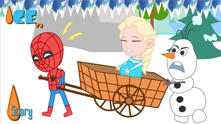 Pregnant Elsa Frozen & Spiderman Panic Funny Story by Ice TV  :: Subscribe : https://goo.gl/mrYGt0 :: More Video: https://goo.gl/jPbVTM :: Facebook: https://www.facebook.com/dolanttwo.ice :: Tumblr: http://icetvblog.tumblr.com :: Twitter : https://twitter.com/icetvdolanttwo :: Google+: http://bit.ly/1XXSdRz