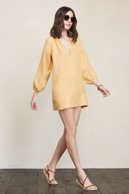30 Buys You Basically NEED From The Reformation Sale #refinery29  http://www.refinery29.com/2015/08/92497/reformation-summer-sale#slide-12  Mellow yellow....