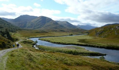 Ecosse (GB)-Randonnée dans les hauts sommets du Glen Affric et du Kintail avec Green Aventure