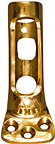 "National Hardware V1907 1"" Flag Pole Bracket in Solid Brass 2-Pack"
