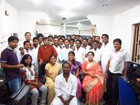 Independence day celebrations in our company in 2014.