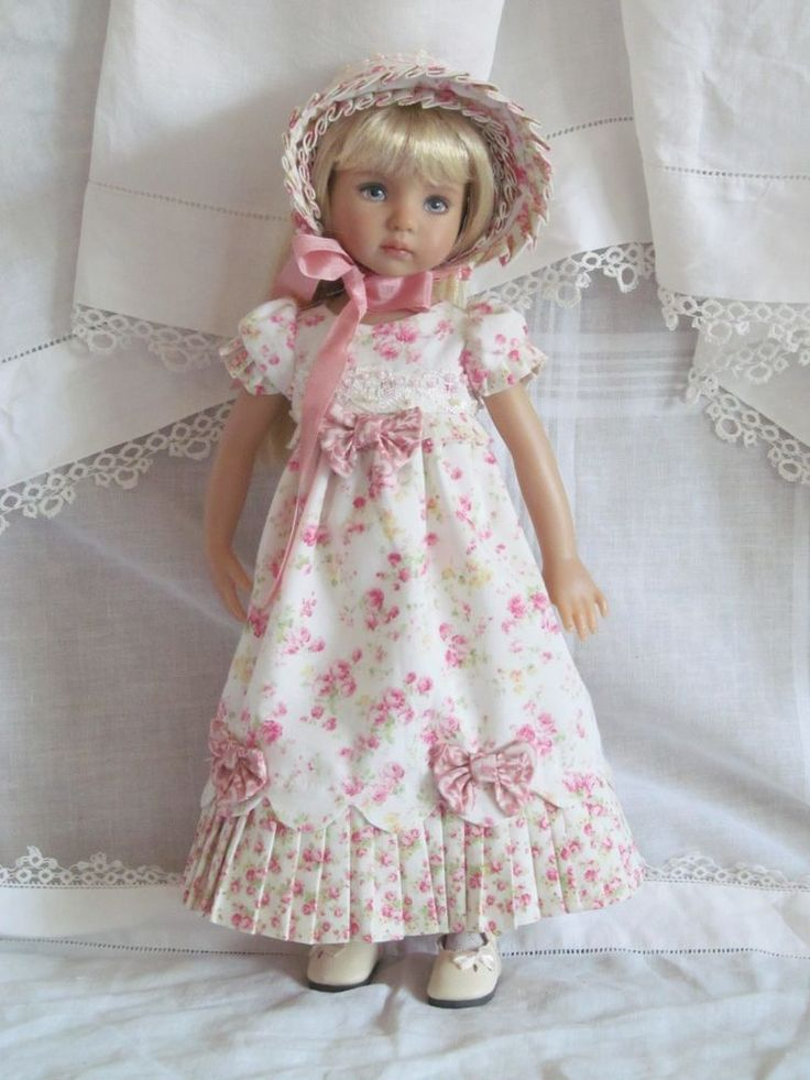 "13"" Effner Little Darling BJD fashion Pink Regency set OOAK handmade by JEC #ClothingAccessories"