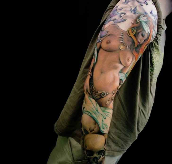 Hiperrealismo en tattoos con Jeff Gogue