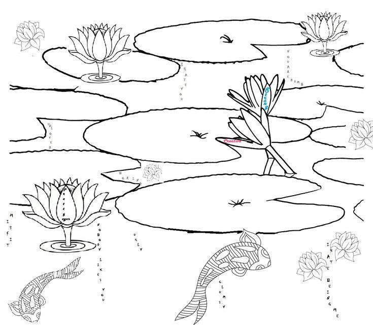 printable pond habitat coloring page ponds pinterest pond