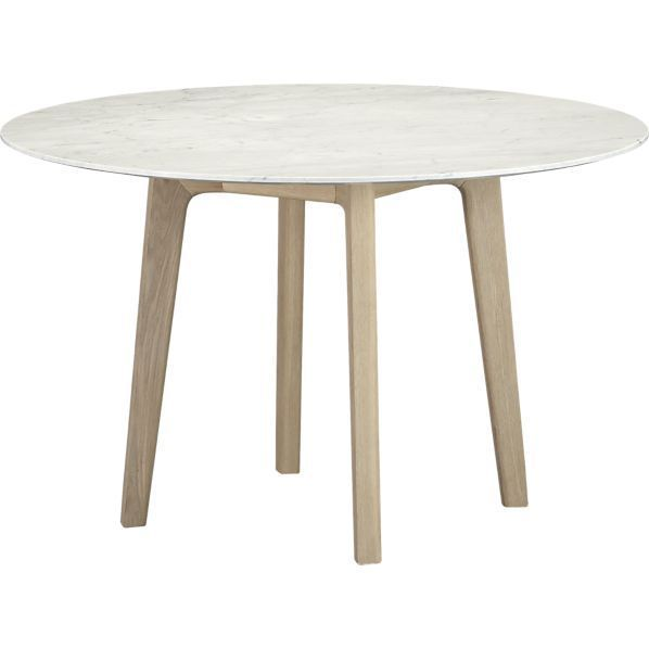 Jensen Dining Table By Crate And Barrel New Cafe With Something A L