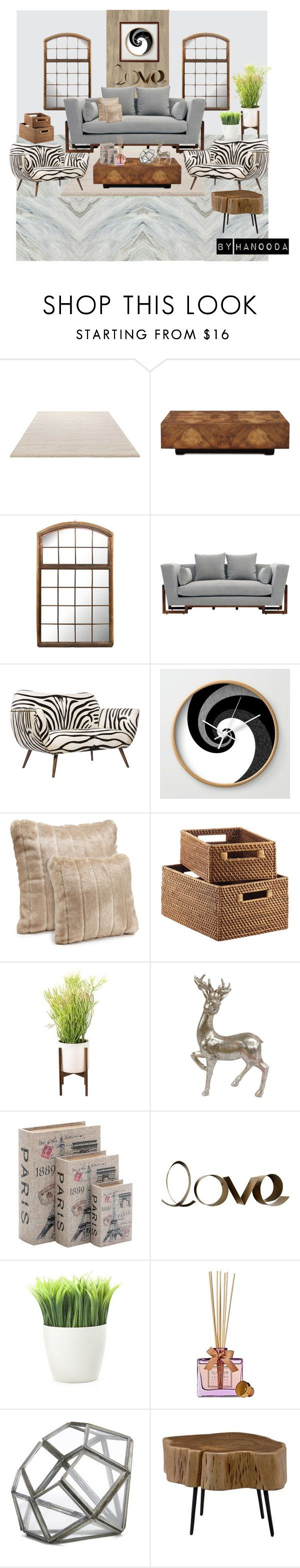 Modern deco by hanooda21 on Polyvore featuring interior, interiors, interior design, home, home decor, interior decorating, artless, Emporium Home, John-Richard and Moe's Home Collection