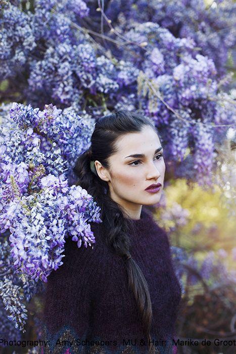 Kristy by Amy Scheepers. Makeup & hair: Marike de Groot