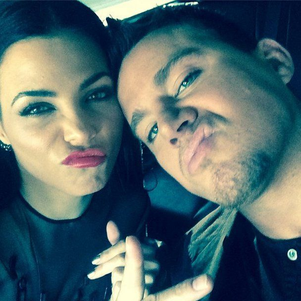 Pin for Later: You'll Love Scrolling Through These Supercute Couples' Snaps Channing Tatum and Jenna Dewan Sometimes it's silly selfies, other times it's red carpet photos; but they're cute every time.
