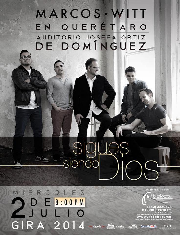 #QUERÉTARO ¿Ya estás listo para esta noche de adoración?    Acompaña #HOY a Marcos Witt en su primer concierto de #SiguesSiendoDios en el auditorio Josefa Ortíz de Domínguez.