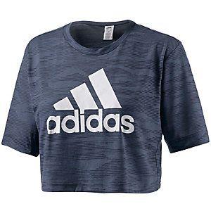 <title>Adidas Box Crop T-Shirt Damen grau im Online Shop von SportScheck kaufen</title>