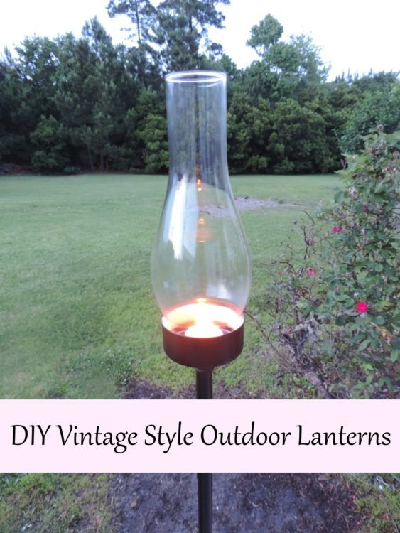 DIY Vintage Style Outdoor Lanterns Craft Project Inspired By Tryon Palace