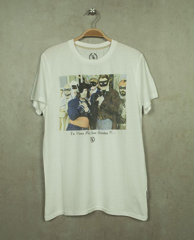 Boom Bap Rundhals T-Shirt - BB10484 - SOIREES white (weiß) +Neu+ alle Größen in Vêtements, accessoires, Hommes: vêtements, T-shirts | eBay