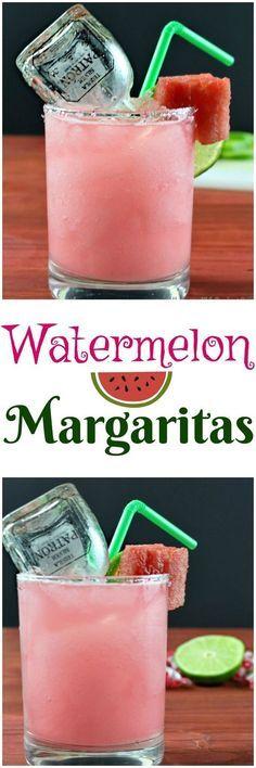 Watermelon Margaritas!