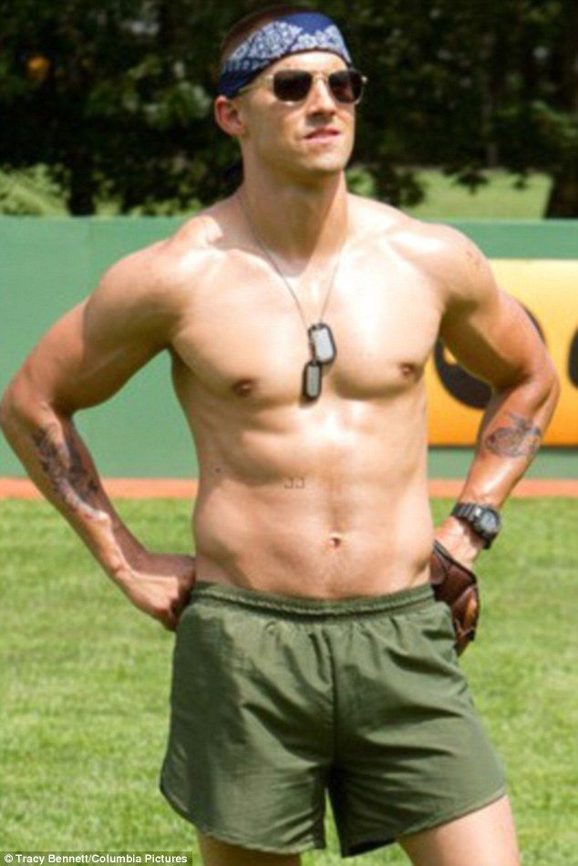 gay military perfect body