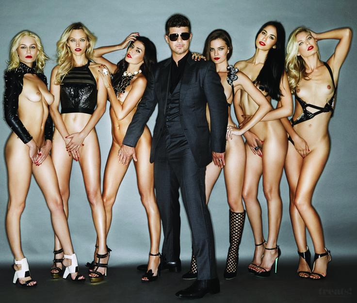 Alternative Culture Partially Nude Woman Fashion Model Viper Girls 1