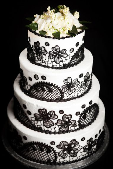 embroidered lace wedding cake white icing 17 best images about our wedding cakes on 14011