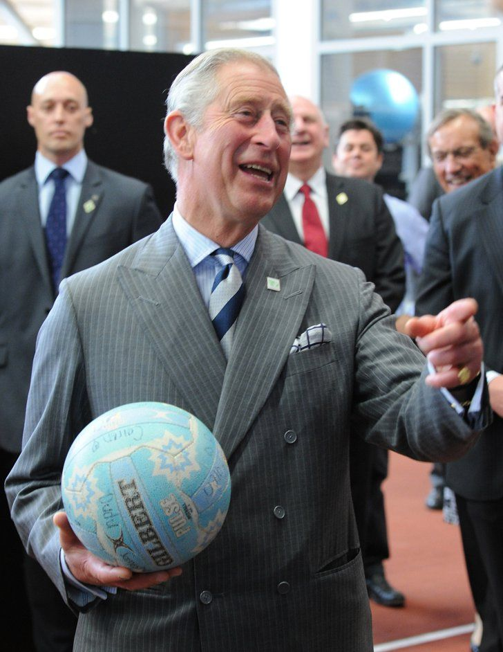 Pin for Later: The Royal Family's Travel Album New Zealand Prince Charles attempted to shoot a netball hoop in New Zealand during his Diamond Jubilee tour of the country on behalf of his mother.