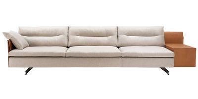 GRANTORINO skylounge sofa  / taupe leather