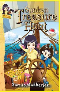 Keiko, Kenzo and Eji are in the bustling city of Singapore to attend their cousin sister, Kiara's recital on Ancient Sea Trade. Keiko and Kiara discover a hidden treasure note in an ancient urn. Their inquisitive nature leads them into a treasure hunt. Soon they realise some evil treasure hunters are out to get them. Find out what happens when they race to hunt the sunken treasure under the South China Sea. #literacy #education #books #childrensbooks #kidsbooks #parenting