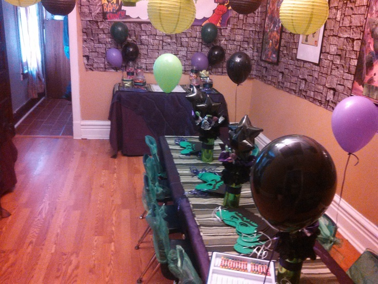 The Incredible Hulk Party Decoration | Birthday Partys | Pinterest